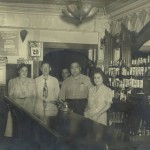City Hall Grill, Waltham MA. Helen (Purdy) Winterkorn (left)