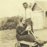 "William ""Willie"" Leblanc, neighbor in wagon."