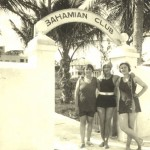 Helen (Purdy) Winterkorn (right), Bahamas 1927